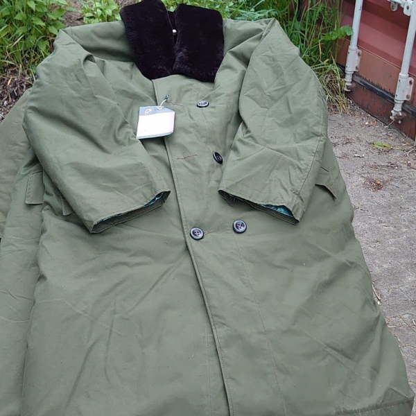 Kożuchy wojskowe - military sheepskin coats - militärische Schaffellmäntel - houseofguns.pl